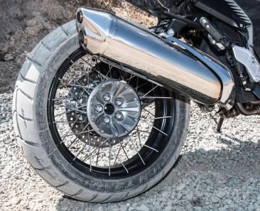 That's a sexy rear wheel. Photo: Angelica Rubalcaba.