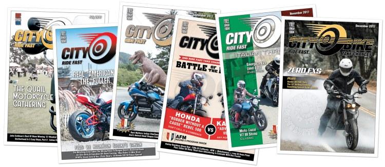Stacks of CityBike Magazine!