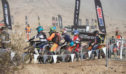 Start of the pro race at King of the Motos 2018.