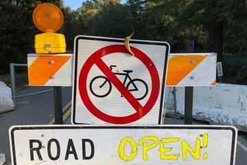 Redwood Road re-opens!