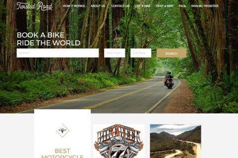 Twisted Road Website