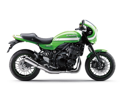 Right side view, Kawasaki Z900RS Cafe.