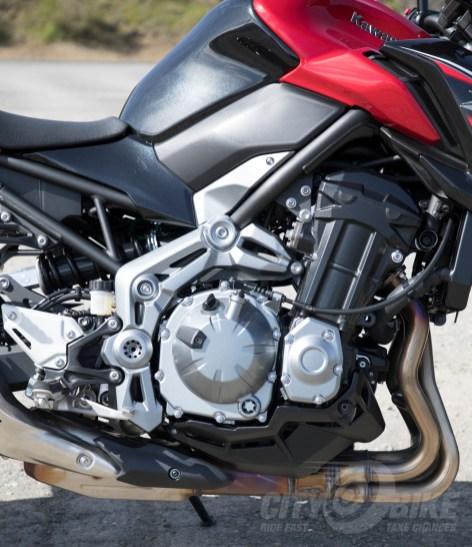 2018 Kawasaki Z900 ABS ridden and reviewed. Photo: Angelica Rubalcaba.