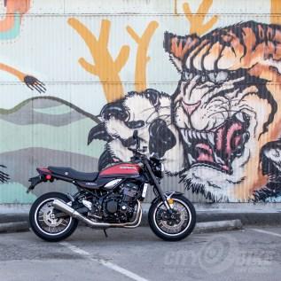 2018 Kawasaki Z900RS in Oakland, CA. Photo: Surj Gish.