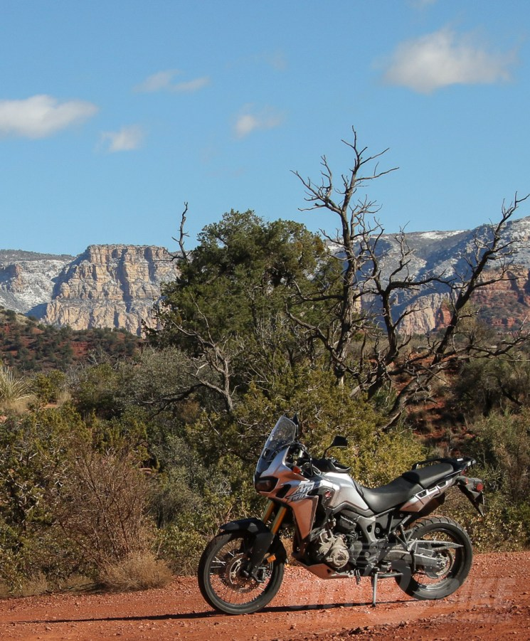 Honda Africa Twin in Arizona