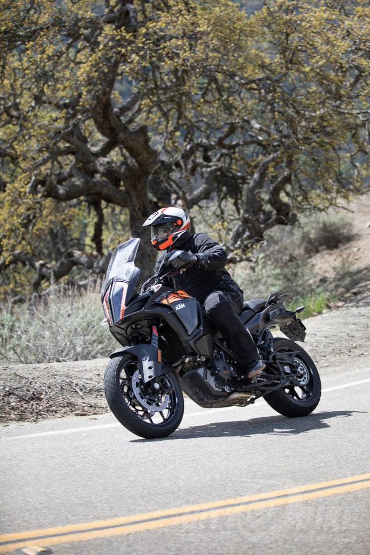 Fish aboard the 2018 KTM 1290 Super Adventure S