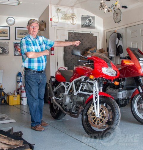 Talking Suspension with Norman Hossack