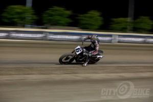 Bryan Smith riding with a busted left leg. Photos: Angelica Rubalcaba.
