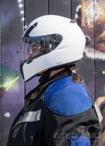 Shoei RF-SR Helmet - side view