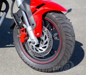 2018 Benelli TNT135 front wheel and front brake