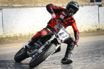 Brad Baker Flat Track Racer Feature