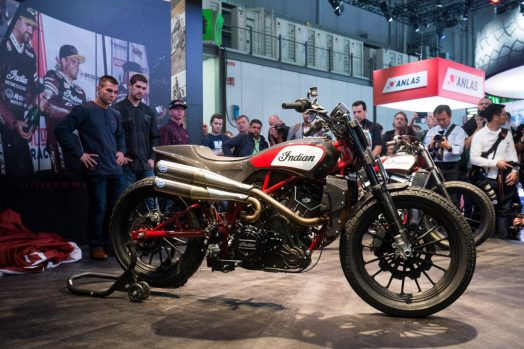 Indian FTR 1200 custom unveiled. Photo: Indian Motorcycle.