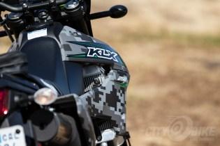 Kawasaki KLX250 - fuel tank.