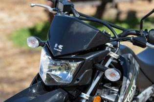 Kawasaki KLX250 - headlight.