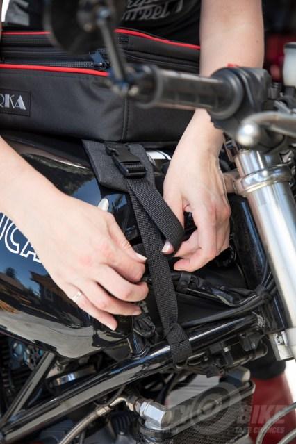 RKA SuperSport 19.5 liter expandable tankbag