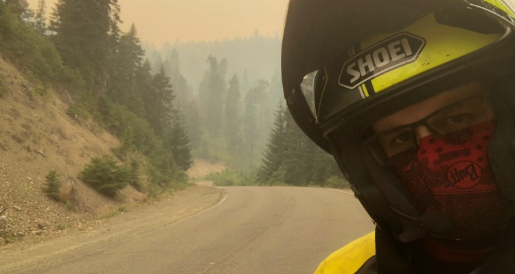 Uneasy Rider: Rolling Burnout - Carr Fire
