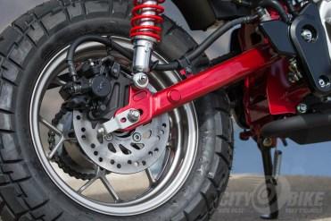 Honda Monkey rear brake