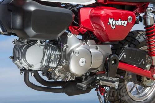 Honda Monkey engine, left side
