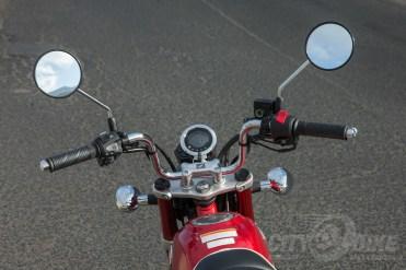 Honda Monkey handlebar, gauges and controls