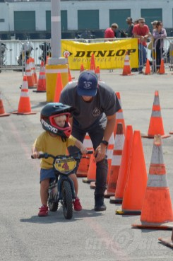 The 2018 Moto Bay Classic offered a kid-khana course.