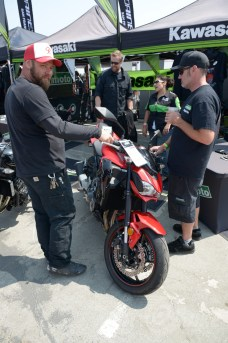 With the *other* Z900.