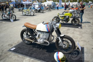 The Architects of Inspiration Bike and Art Show at the 2018 Moto Bay Classic.