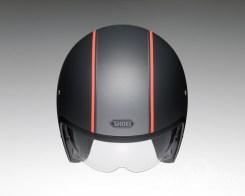 Shoei J•O open face helmet - Caburetor - black, top