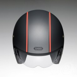 Shoei J•O open face helmet - Caburetor - black, top