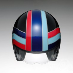 Shoei J•O open face helmet - Nostalgia - top
