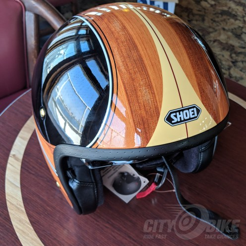 Shoei J•O open-face helmet