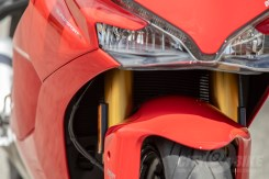 Ducati SuperSport S - front detail view.