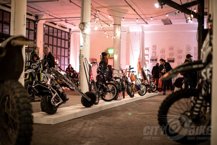 Tiny choppers at the 2019 One Motorcycle Show