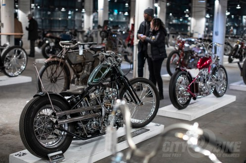 Choppers at the 2019 One Motorcycle Show