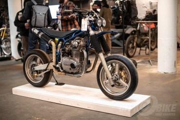 Dirtbag Supermoto at the 2019 One Moto Show.