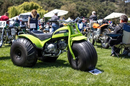 Honda ATC90 at the 2019 Quail Motorcycle Gathering. Photos: Angelica Rubalcaba.