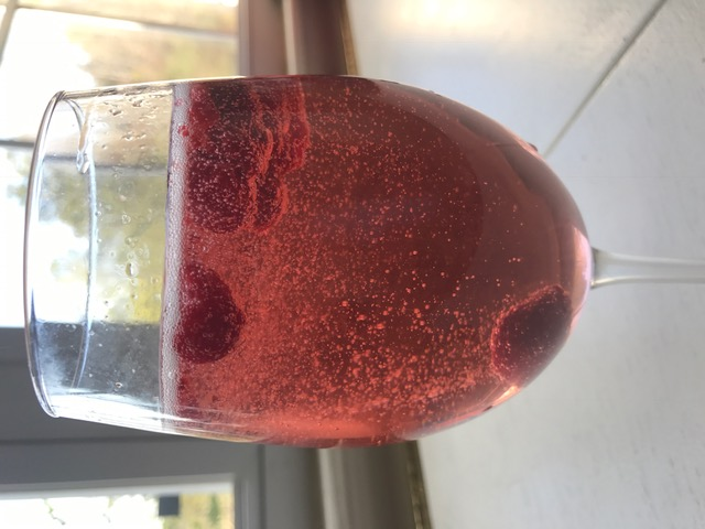 Weekend Recipe : Raspberry Tequila Champagne Cocktail