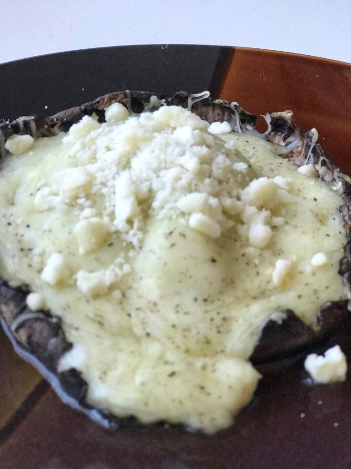 Weekend Recipe: Grilled Stuffed Portobello Mushrooms