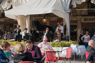 St. Mark's square lunch and music