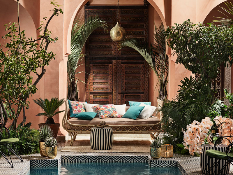 أضفي الطابع المغربي إلى منزلك
