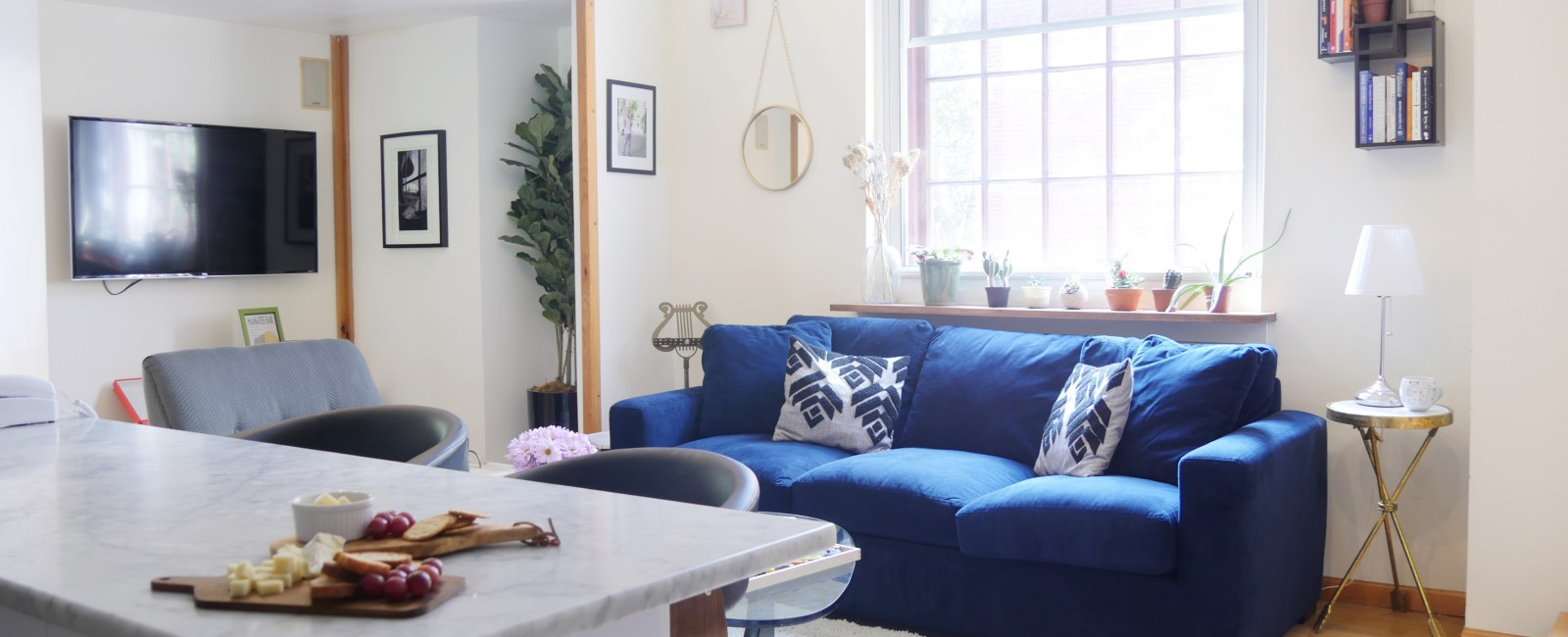 Check Out This Eclectic Apartment Built in a Former Church