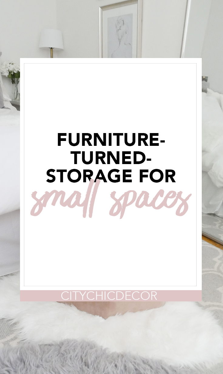Live in a small space and struggle with storage? This furniture which is also storage will not only save tons of space but also add glam to your interior! #smallapartmentdecorating #smallapartmentideas #decoratingideas #decoratingideasforapartments #organizationideas #organization #storageideas #storageideasforsmallspaces #storagesolutions