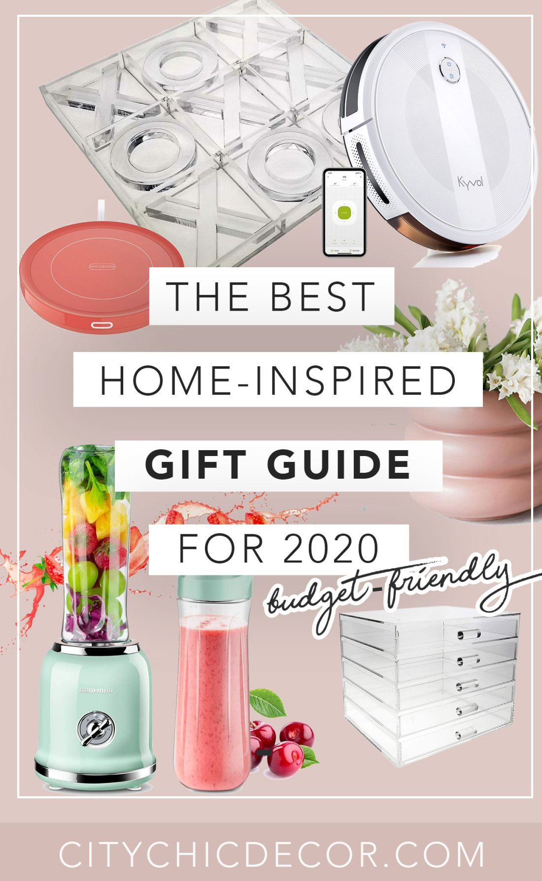 These affordable interior home decor gifts from Amazon will blow your family & your friends away. From chic decor to modern decorative accents and smart kitchen appliances, you'll be shocked with how budget-friendly these gifts are! #giftideas #affordablefurniture #affordablegiftideas #amazongifts #thingstobuyonamazon #giftsforbestfriends #interiorgifts #decorgifts