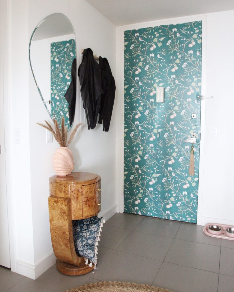 Before/After: How to Decorate a Narrow Entryway or Hallway