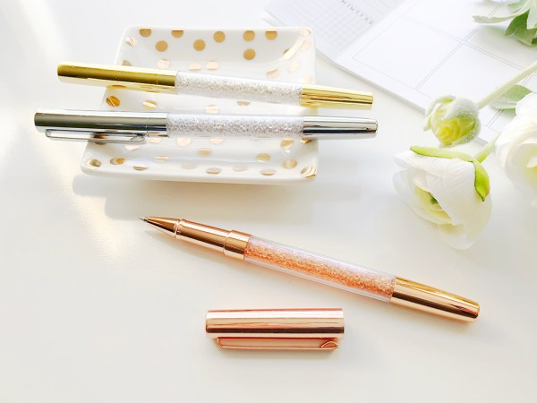 Diamond Filled Pen s