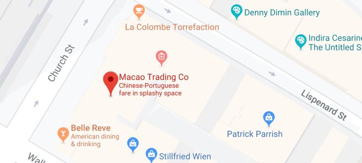 macao trading company - church street