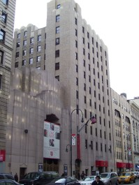 Salvation Army Territorial Headquarters, located at 120-130 West 14th St., Manhattan. Image credit: Beyond My Ken.