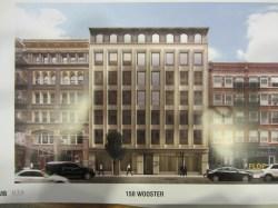 Artist's rendering of 150 Wooster Street.  Image Credit: CityLand