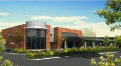 Architect's rendering of the proposed Meals on Wheels facility. Image credit: Rampulla Associates