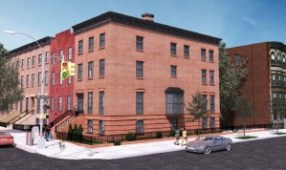 Rendering of 145 Gates Avenue in Brooklyn. Image Credit: LPC.