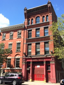 Henry Street Firehouse sitting to the right of Henry Street Settlement headquarters. Image credit: CityLand
